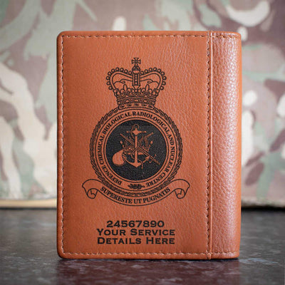 RAF Defence Chemical Biological Radiological and Nuclear Centre Credit Card Wallet
