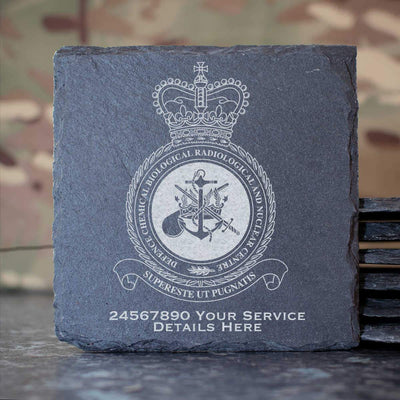 RAF Defence Chemical Biological Radiological and Nuclear Centre Slate Coaster