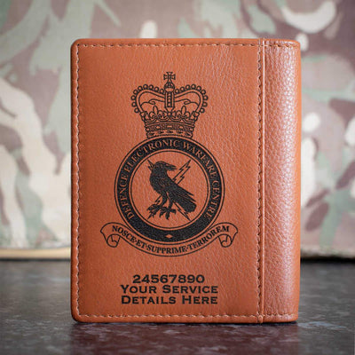 RAF Defence Electronic Warfare Centre Credit Card Wallet