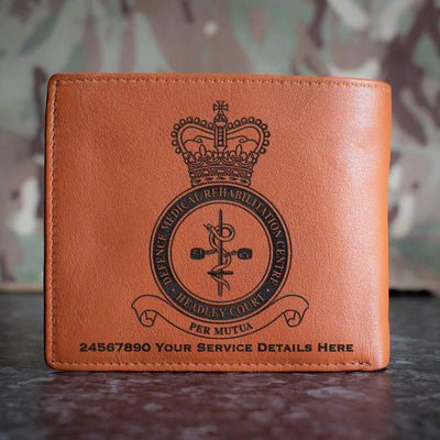 RAF Defence Medical Rehabilitation Centre Headley Court Leather Wallet