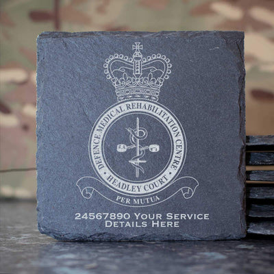 RAF Defence Medical Rehabilitation Centre Headley Court Slate Coaster