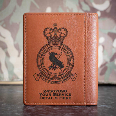 RAF Electronic Warfare Operational Support Establishment Credit Card Wallet