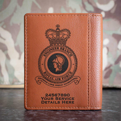 RAF Engineer Branch Credit Card Wallet
