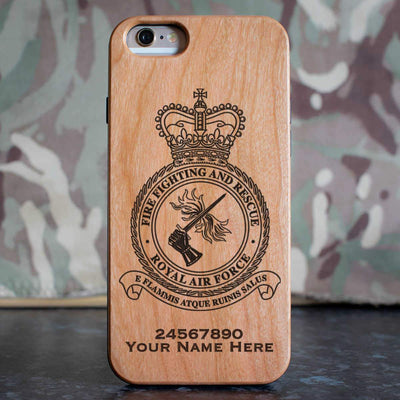 RAF Fire Fighting and Rescue Phone Case