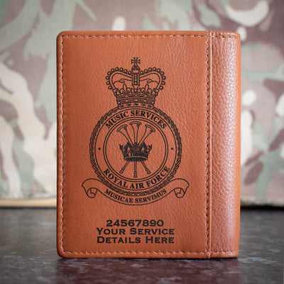 RAF Music Services Credit Card Wallet