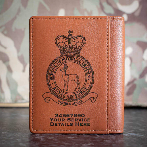 RAF School of Physical Training Credit Card Wallet