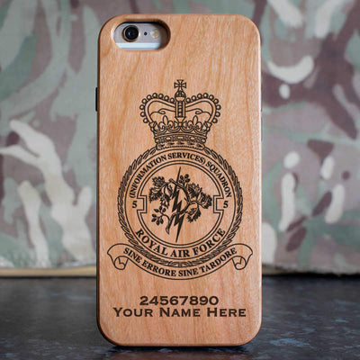 RAF 5 (Information Services) Squadron Phone Case