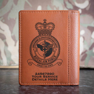 RAF 1 Aeromedical Evacuation Squadron Credit Card Wallet