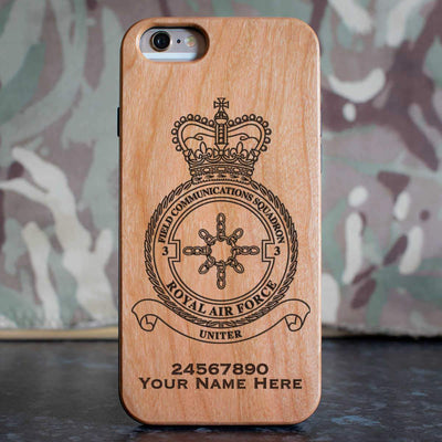 RAF 3 Field Communications Squadron Phone Case