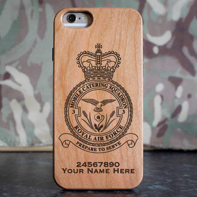 RAF 3 Mobile Catering Squadron Phone Case