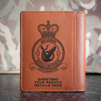 RAF 6 Squadron Credit Card Wallet