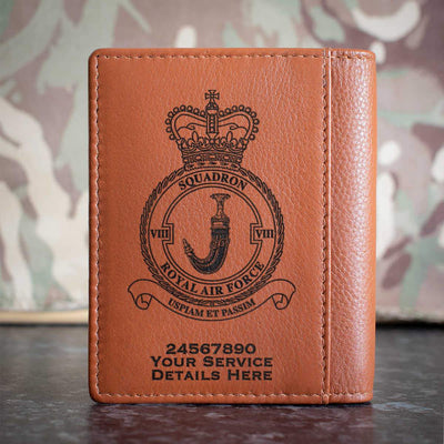 RAF 8 Squadron Credit Card Wallet
