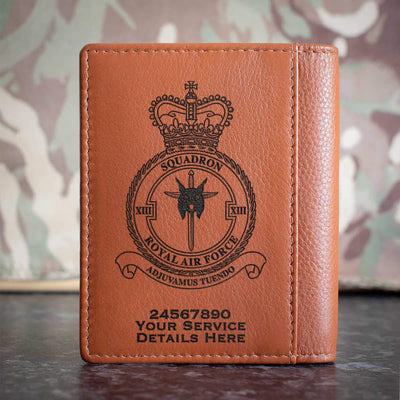 RAF 13 Squadron Credit Card Wallet