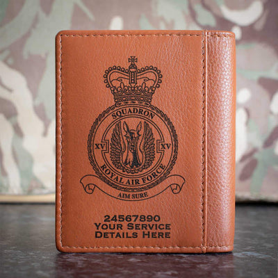 RAF 15 Squadron Credit Card Wallet