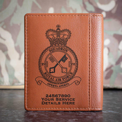 RAF 16 Squadron Credit Card Wallet