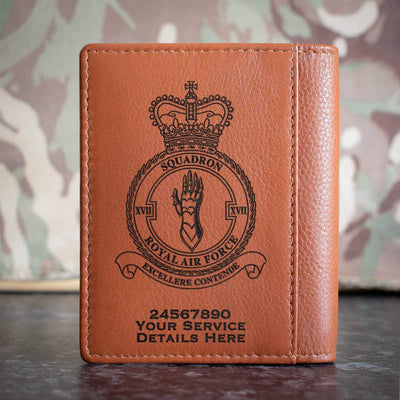 RAF 17 Squadron Credit Card Wallet
