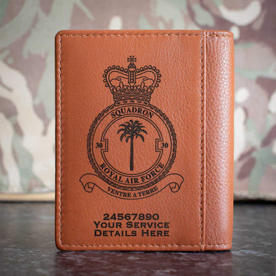 RAF 30 Squadron Credit Card Wallet