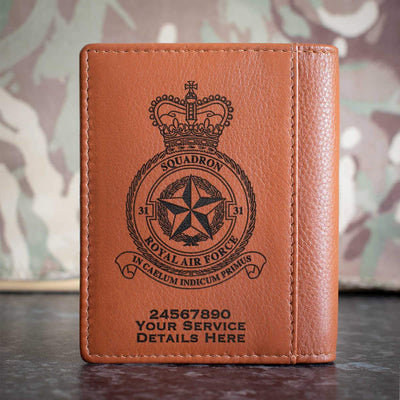 RAF 31 Squadron Credit Card Wallet