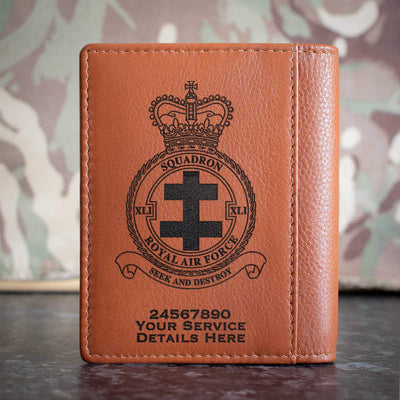 RAF 41 Squadron Credit Card Wallet