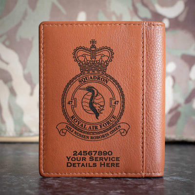 RAF 47 Squadron Credit Card Wallet