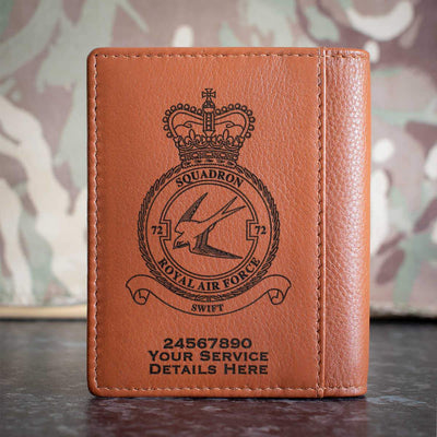 RAF 72 Squadron Credit Card Wallet