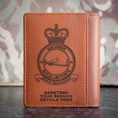RAF 115 Squadron Credit Card Wallet