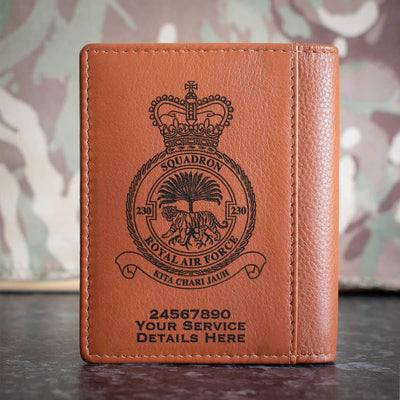 RAF 230 Squadron Credit Card Wallet