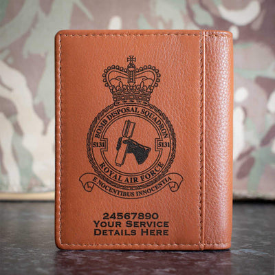 RAF 5131 Bomb Disposal Squadron Credit Card Wallet