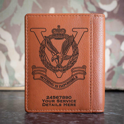 RAF Joint Helicopter Command Flying Station Aldergrove Credit Card Wallet