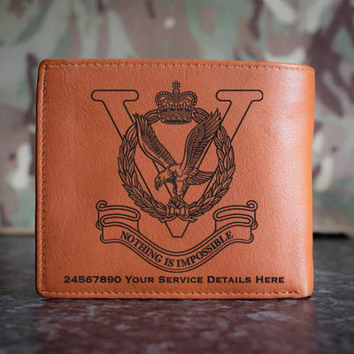 RAF Joint Helicopter Command Flying Station Aldergrove Leather Wallet