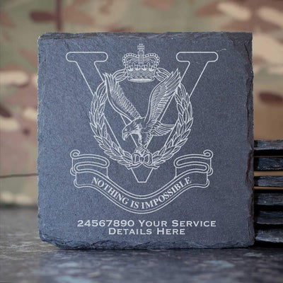 RAF Joint Helicopter Command Flying Station Aldergrove Slate Coaster