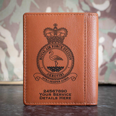 RAF Station Akrotiri Credit Card Wallet