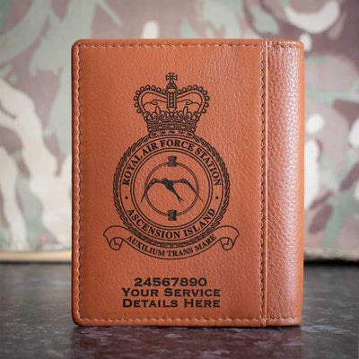 RAF Station Ascension Island Credit Card Wallet