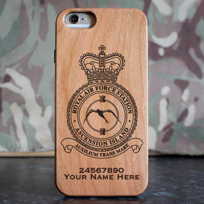 RAF Station Ascension Island Phone Case