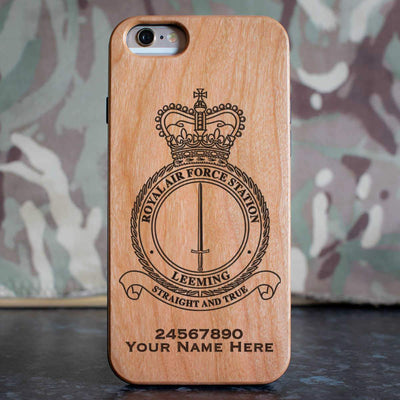 RAF Station Leeming Phone Case