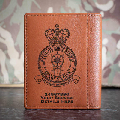 RAF Station Linton-On-Ouse Credit Card Wallet