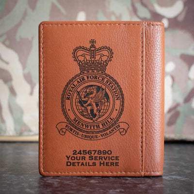 RAF Station Menwith Hill Credit Card Wallet