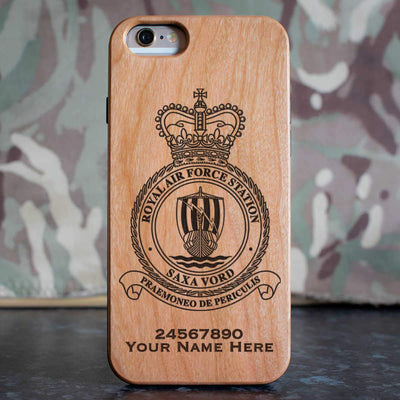 RAF Station Saxa Vord Phone Case