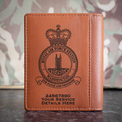 RAF Station Waddington Credit Card Wallet
