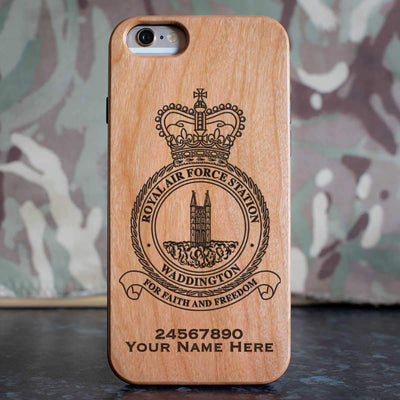 RAF Station Waddington Phone Case