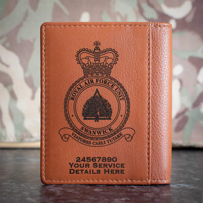RAF Unit Swanwick Credit Card Wallet
