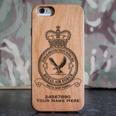 RAF 2 Force Protection Wing HQ Phone Case