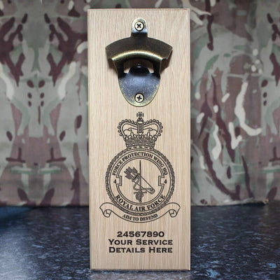 RAF 4 Force Protection Wing HQ Wall-Mounted Bottle Opener