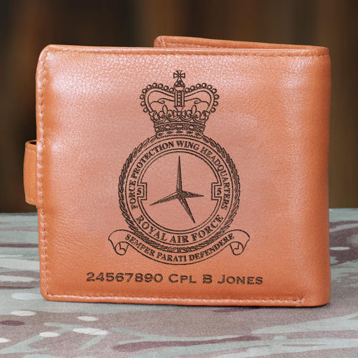 RAF 5 Force Protection Wing Headquarters Personalised Slate Coaster (401)