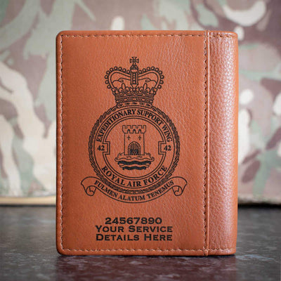 RAF 42 Expeditionary Support Wing Credit Card Wallet