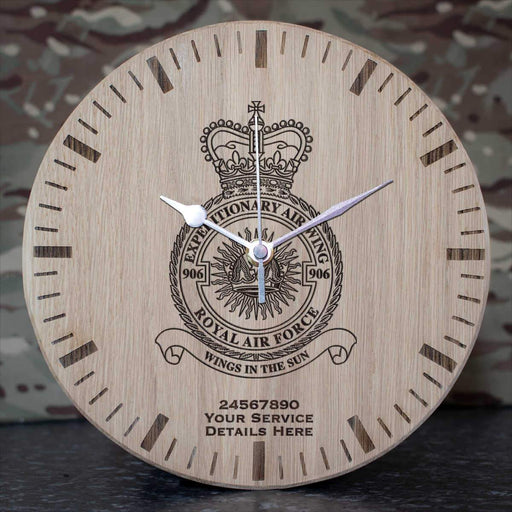 RAF 906 Expeditionary Air Wing Oak Clock