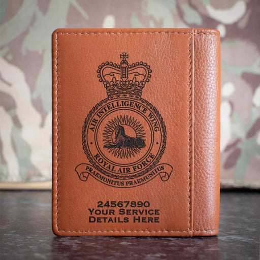 RAF Air Intelligence Wing Credit Card Wallet