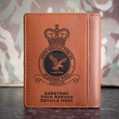 RAF Joint Special Forces Aviation Wing Credit Card Wallet