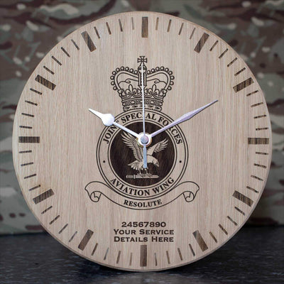 RAF Joint Special Forces Aviation Wing Oak Clock