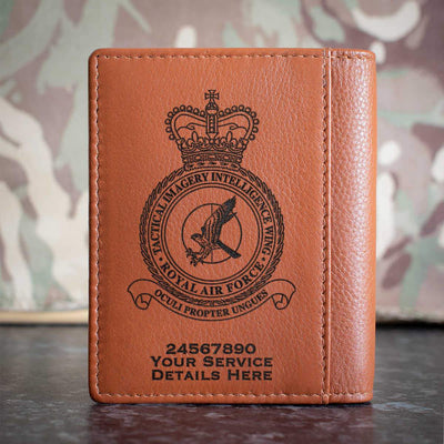 RAF Tactical Imagery Intelligence Wing Credit Card Wallet
